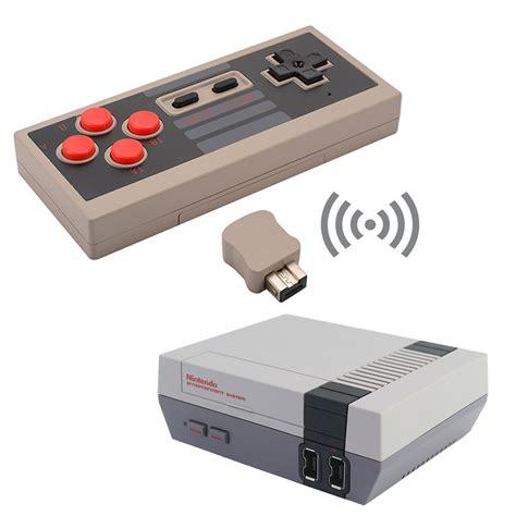 Wireless Game Pad Controller Handle For Nintendo Nes Mini