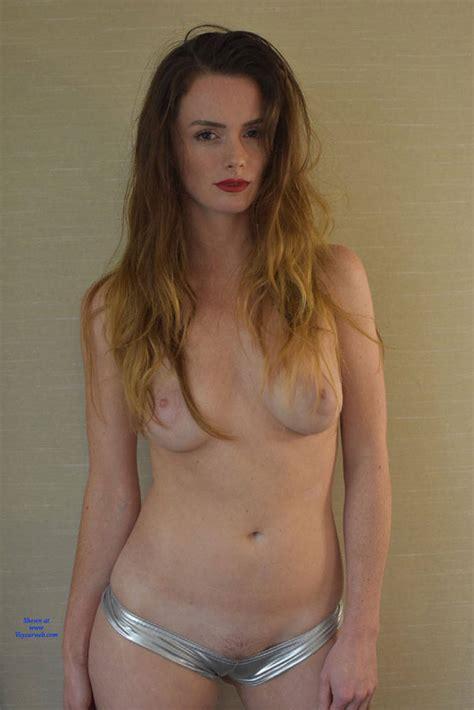 Hot And Topless Blonde December Voyeur Web Hall