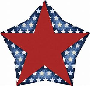 4th July Red Star Clipart - Clipart Suggest