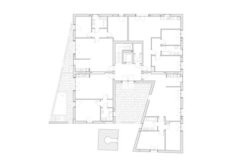 building plans d residential building giudecca island italy apartment