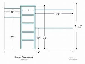 Diy Closet Organizer Plans  How To Customize Your Closet