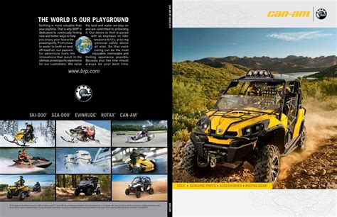 Can-Am Parts & Accessories Catalogue 2014 by Aziel - Issuu