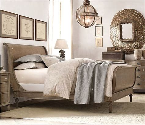 White Restoration Hardware Bedroom