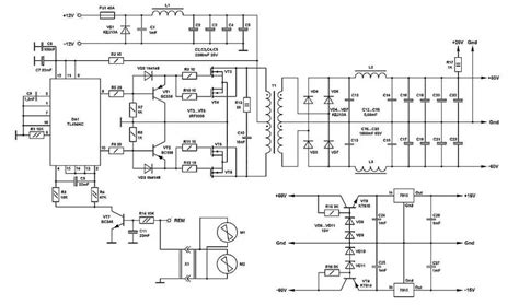 Volt Switching Power Supply For