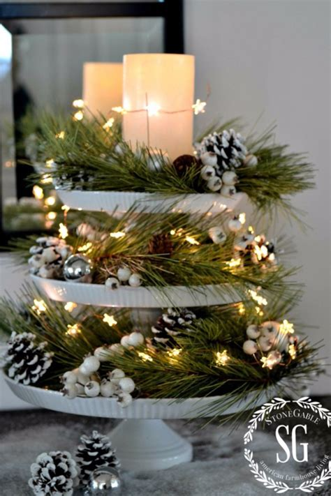 32 Christmas Table Decorations & Centerpieces  Ideas For