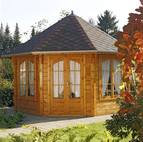 pavillon aus holz kaufen holz pavillon 8 eck gartenpavillon 4m 216 im landhausstil geschlossen vom garten fachh 228 ndler