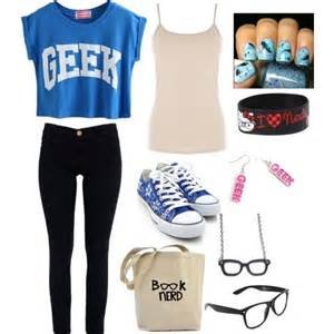 Girl Nerd Outfit Polyvore