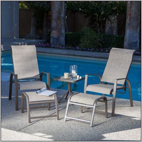 patio chair and ottoman set sam storage containers