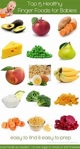 top 15 health finger foods for baby wholesome baby food