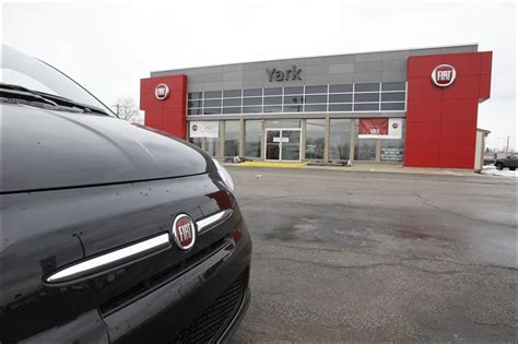 Yark Fiat by Local Auto Dealers Spruce Up Showrooms Toledo Blade