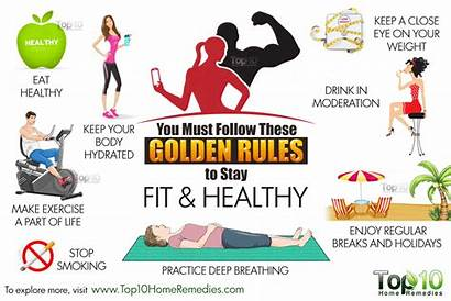 Healthy Rules Golden Stay Staying Eat Health