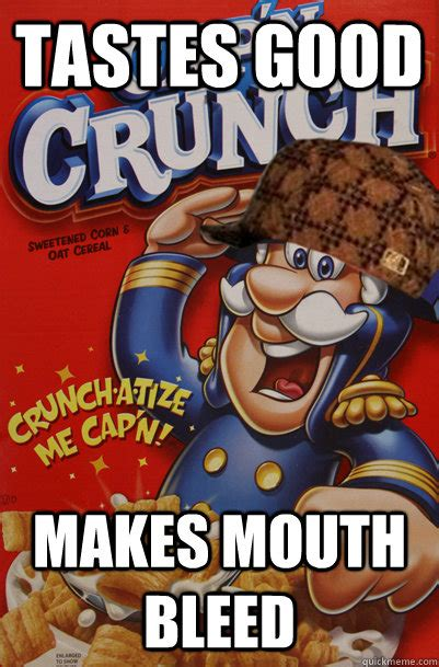 Crunch Meme - captain crunch meme memes
