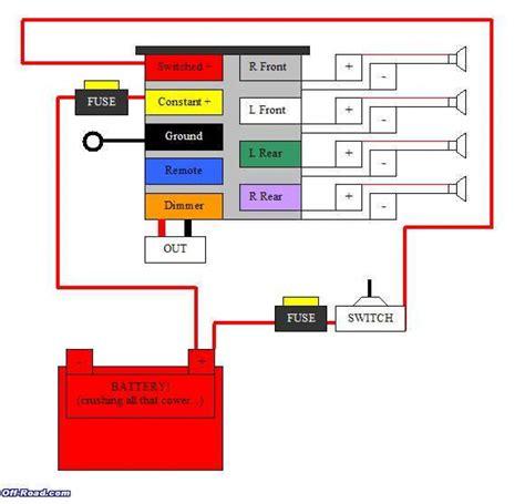 Wiring Diagram For Pioneer Radio Webtor
