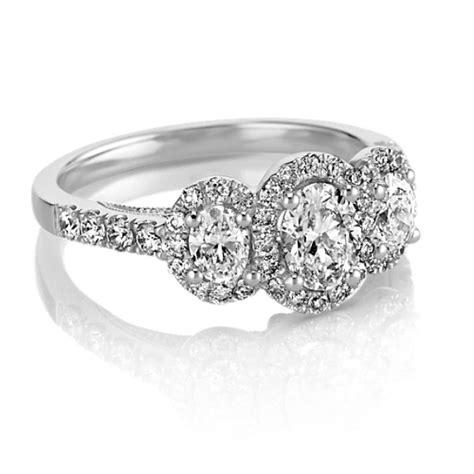 oval  stone halo diamond engagement ring shane
