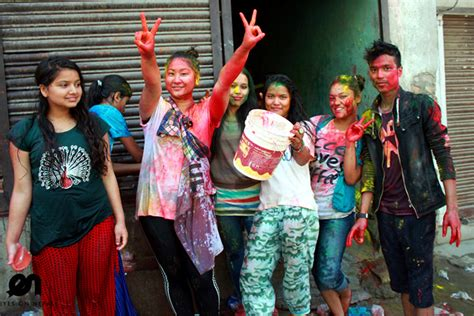 holy festival  nepal nepals  lively  colorful