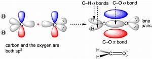 Bonding Orbitals In Formaldehyde