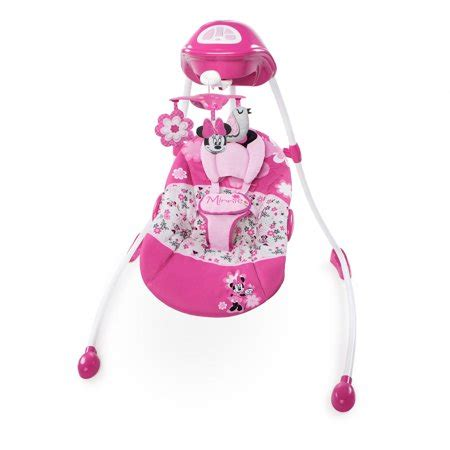 Minnie Mouse Baby Swing by Disney Baby Minnie Mouse Garden Delights Swing Walmart