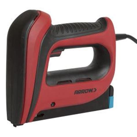 Electric Upholstery Stapler Home Depot by Arrow Fastener T50 5 In Electric Stapler T50acd R The