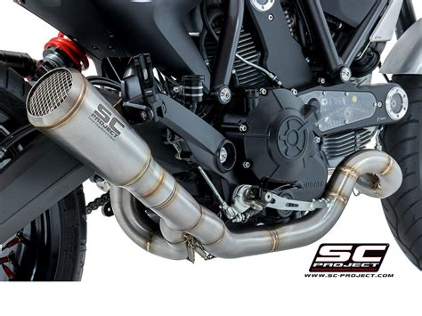conic  mount full system exhaust  sc project ducati