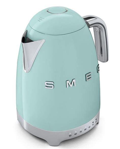 appareil de cuisine qui fait tout smeg klf01pgeu bouilloire électrique vintage à 140