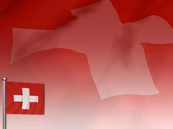 switzerland flag  powerpoint template