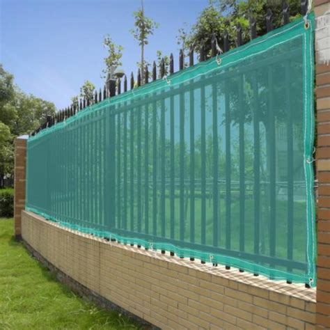 50 fence screen mesh privacy fabric slat windscreen for 4