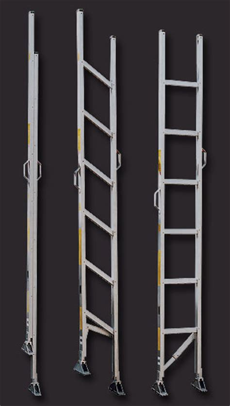 attic access ladder alco lite aluminum ladder folding ladders