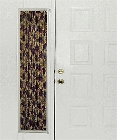 front door sidelight curtain rods sidelight curtains in prints