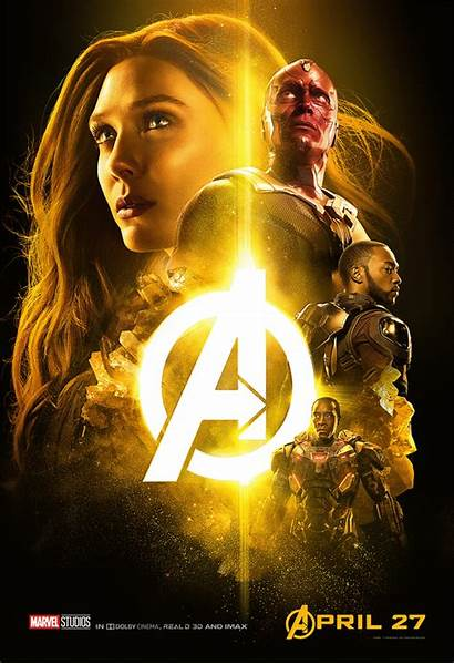 Infinity War Posters Avengers Stone There