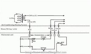 House Thermostat Wiring Diagram New Wiring Diagram House