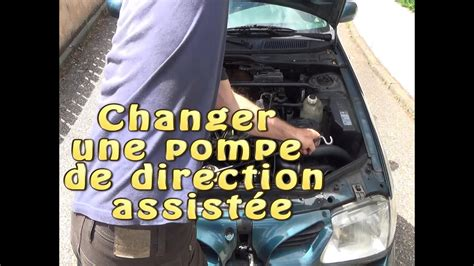 changer  purger une pompe de direction assistee youtube