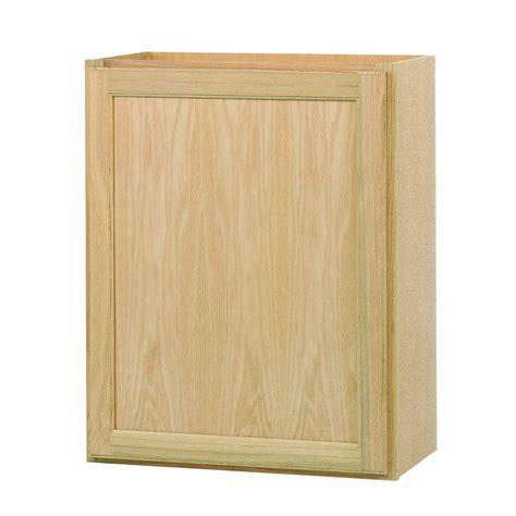 home depot unfinished oak kitchen cabinets assembled 24x30x12 in wall kitchen cabinet in unfinished 8416