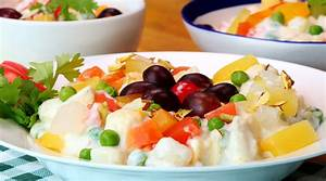 Russian Salad Recipe How to make Russian Salad Sooperchef