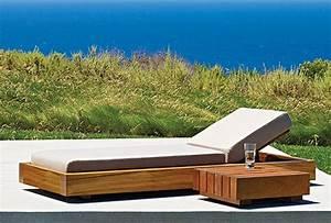 Table Basse Longue : le mobilier d 39 ext rieur de la collection d sert ~ Teatrodelosmanantiales.com Idées de Décoration