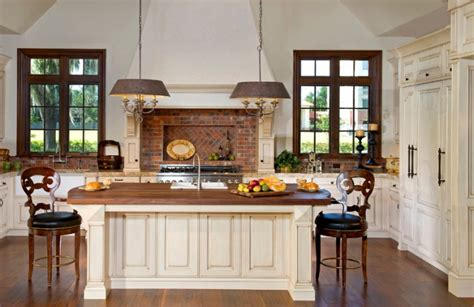 country kitchen with island 40 kitchen island designs ideas design trends