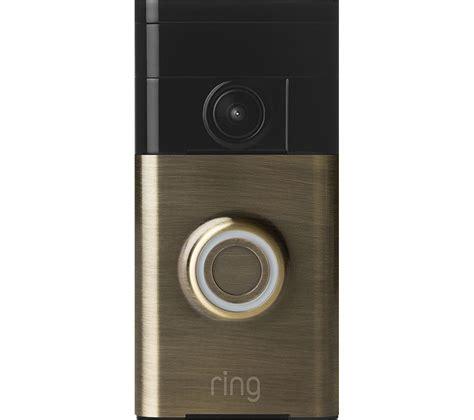 ring door bell ring doorbell antique brass deals pc world