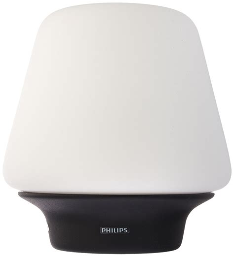 white ambiance wellness table l philips hue go portable dimmable led smart light table