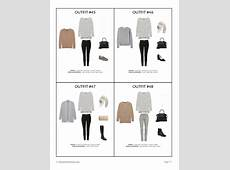 The French Minimalist Capsule Wardrobe Winter 20182019