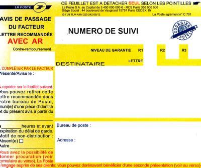 bureau de poste belgique bordereau de recommand avec avis de rception envoyer un