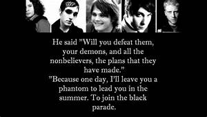 Welcome To The Black Parade - My Chemical Romance (Lyrics ...
