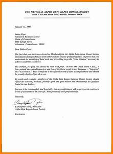 National Honor Society Recommendation Letter 12 Recommendation Letter For National Honor Society