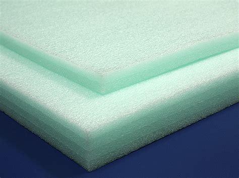 polyethylene foam sheets 1 2lb green foam by mail