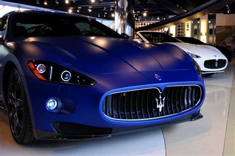blue maserati maserati gran turismo s got to love that matte blue