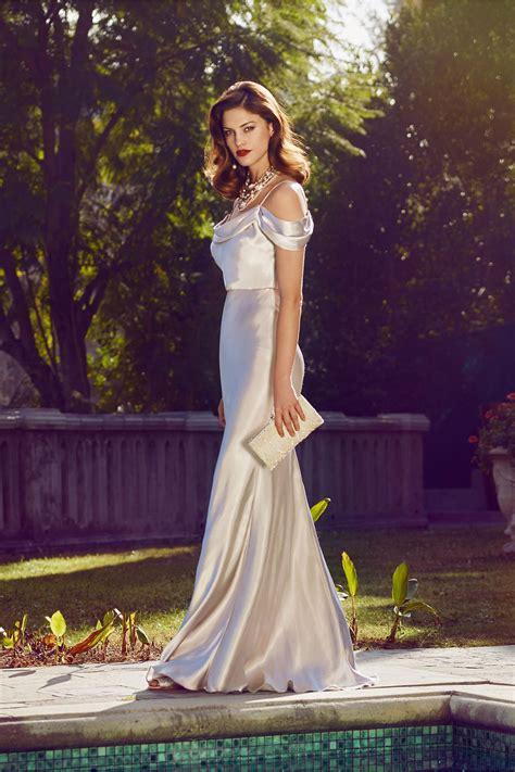 sabine dress  bridal party guests maid  honor