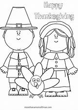 Crafts Thanksgiving Activities Printable Coloring Pilgram Pages Source sketch template