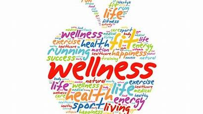 Wellness Health Word Collage Cloud Apple Sustainability
