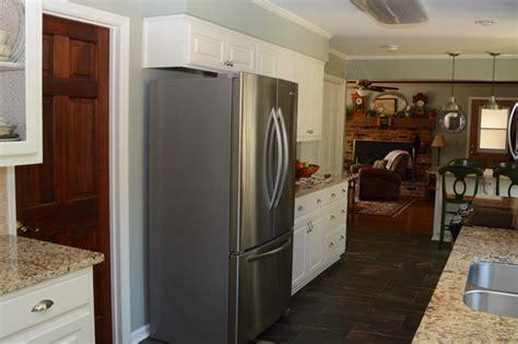 galley kitchen update traditional kitchen