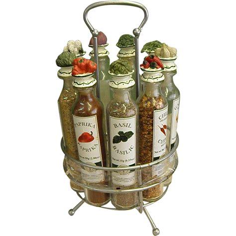 Gourmet Spice Rack by Charming Au Printemps Gourmet Revolving Spice Rack Bottles
