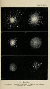 Plate Xxxii  Star Clusters  The Heavens  An Illustrated