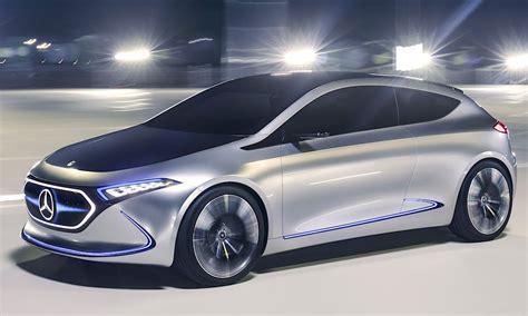 Bmw Ute 2020 by Mercedes Concept Eqa Siktar Mot Bmw I3 Ska Vara Ute 2020